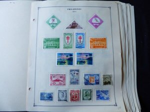 Philippines 1960-1973 Stamp Collection on Scott International Album Pages