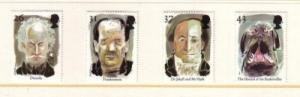 Great Britain Sc 1754-7 1997 Europa  stamp set  mint NH