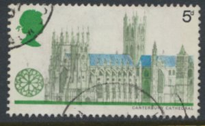 Great Britain  SG 799  SC# 592 Architecture Used see detail and scan