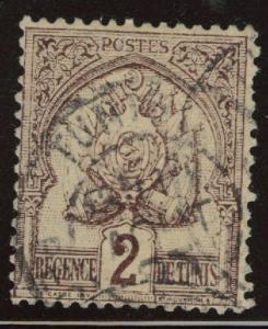 Tunis Tunisia Scott 10 used 1888 stamp