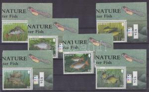Great Britain - Jersey stamp 2010 MNH Fish WS88717