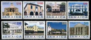 HERRICKSTAMP JAMAICA Sc.# 1038-45 Buildings Part II Stamps