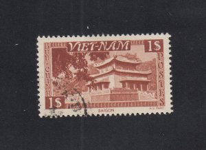 South Vietnam Scott #6 Used