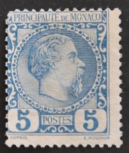 DYNAMITE Stamps: Monaco Scott #3 – UNUSED