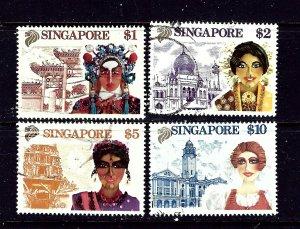 Singapore 580-83 Used 1990 set