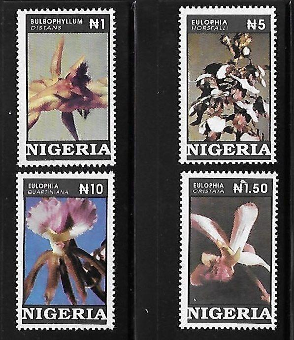 Nigeria 1993 Orchids flowers MNH A692