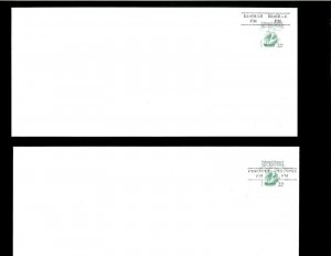 Micronesia (FDM) 34 Stamped Envelope Precancelled (5). Net 75.00