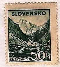 SLOVAKIA - #107 - UNUSED MINT NO GUM  - 1944 - SLOVA020DTS19