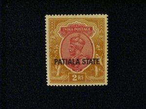 India-Patiala #71 mint hinged  a209 1219