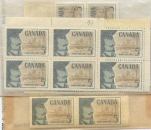 Canada - 1958 Champlain's Founding of Quebec X 100 #379