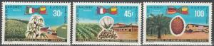 Dahomey #262-3, C105 MNH VF CV $4.50 (SU1929)