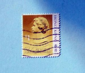 Hong Kong - 497, Used. Elizabeth II. SCV - $0.40