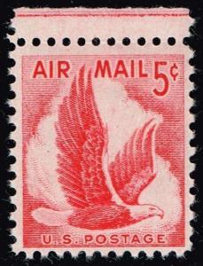 US #C50 Eagle in Flight; MNH (0.25)