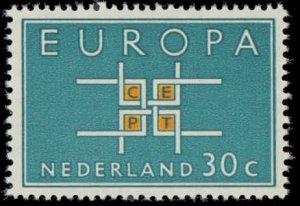 Netherlands #416-417, Complete Set(2), 1963, Europa, Never Hinged