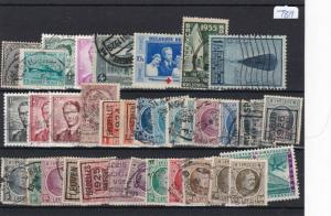 BELGIUM MINT AND USED STAMPS ON STOCK CARD REF 3051