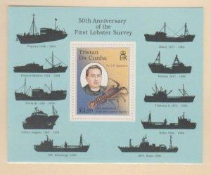 Tristan Da Cunha Scott #617 Stamps - Mint NH Souvenir Sheet