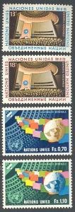 United Nations/New York 300-301, Geneva 79-80 MNH - General Assembly