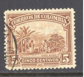 Colombia Sc # 413 used