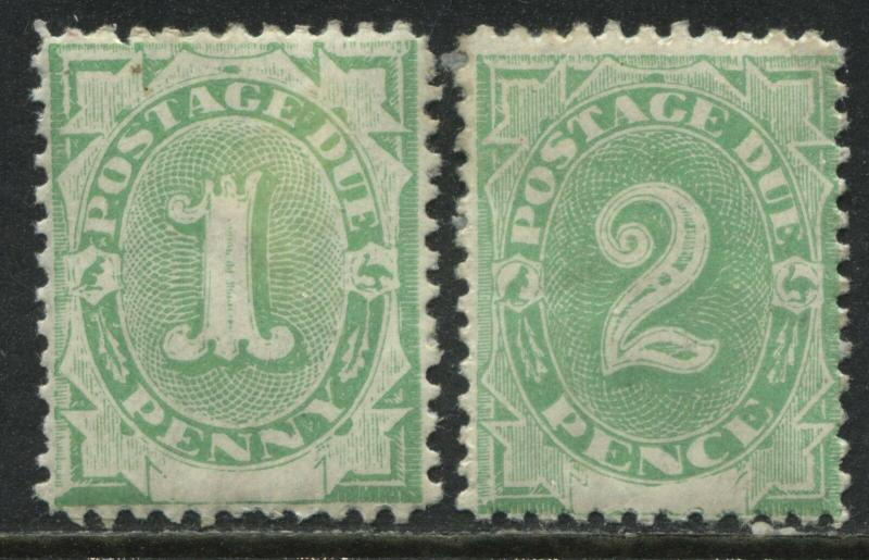 Australia 1902 1d and 2d Postage Dues mint o.g.