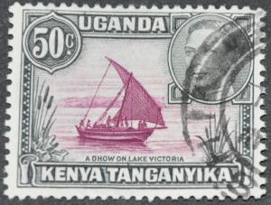 Kenya, Uganda & Tanganyika Scott #79 – USED