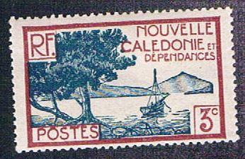 New Caledonia 137B MLH Bay Scene (BP4412)