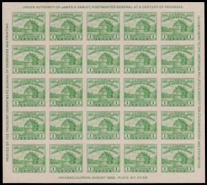 United States Scott 730 (1933) Mint H VF, CV $20.00