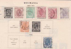 ROMANIA  ^^^^^^^1894-01  x7 used  KING  CLASSICS $$$@ lar5119roma