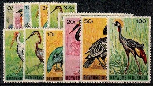 Burundi Scott 111-25 Mint NH (Catalog Value $22.60)