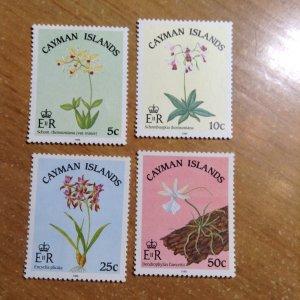 Cayman Islands  # 535-38  MNH