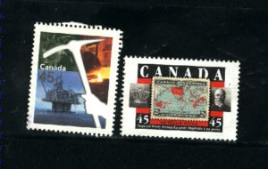 Canada #1721-22    -1   used VF  1998 PD