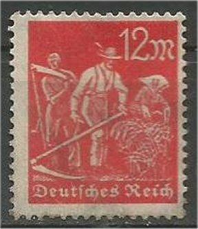 GERMANY, 1922, MH 12m, Farmers Scott 223