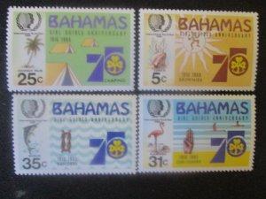 Bahamas #572-75 Mint Never Hinged WDWPhilatelic (H6L8)