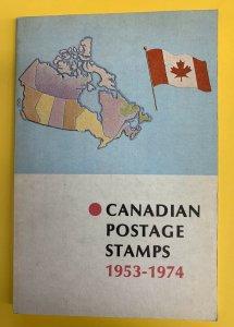Canadian Postage Stamps 1953-1974:  The Elizabethan Era, 1st Edition, K. Bileski
