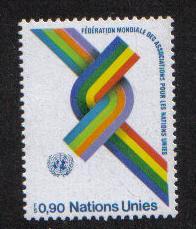 United Nations Geneva  1976 MNH world federation of UN Assoc