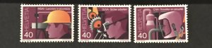 Switzerland 1978 #659-61, Unused/mh, CV $2.75