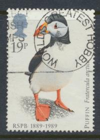 Great Britain SG 1419  Used   - RSPCB  Birds