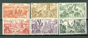FRENCH POLYNESIA RHINE-CHAD #C11-16...SET.....MNH...17.55