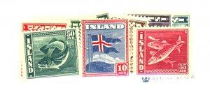 Iceland #217-224,226-8 MINT FVF OG NH Cat$239