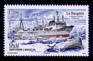 St. Pierre & Miquelon Sc# 1044 MNH Le Dauphin