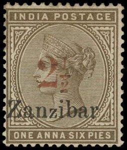 Zanzibar Scott 27 Gibbons 30 Mint Stamp