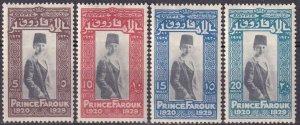 Egypt #155-8  Unused  CV $11.50 (Z3266)