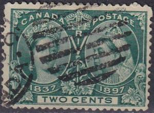 Canada #52 F-VF Used CV $15.00 (A18713)