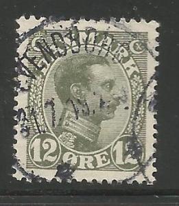 DENMARK 101 USED KING CHRISTIAN