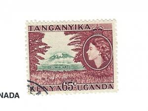 Kenya,Uganda,Tanzania, 111, Mt. Kilimanjaro Single, Used
