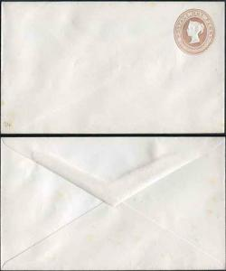 EP31 QV 1d Pink Envelope Stamp 5 Size E Mint