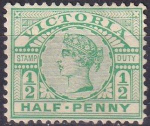 Victoria #180  Unused CV $25.00 (Z9582)