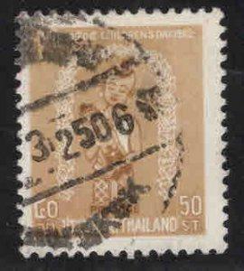 THAILAND Scott 384 Used children's day 1962 stamp