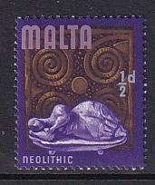 Malta   #312   MNH   1965  definitive   1/2p