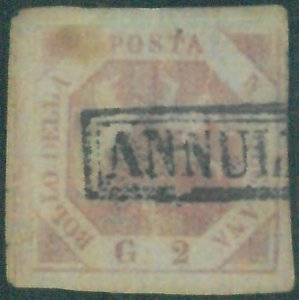 87667f - ANTICHI STATI:  NAPOLI  - 2 Grana  Sassone 5 o 6 o 7 - USATO