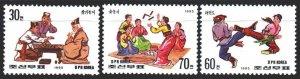 North Korea. 1995. 3733-35. Traditional sports of Korea. MNH.